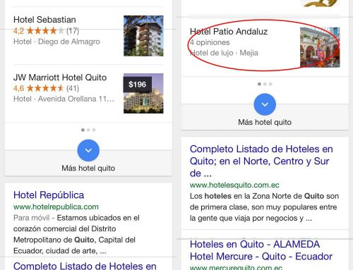 "El ""mobile friendly algorithm"" de Google en Ecuador"