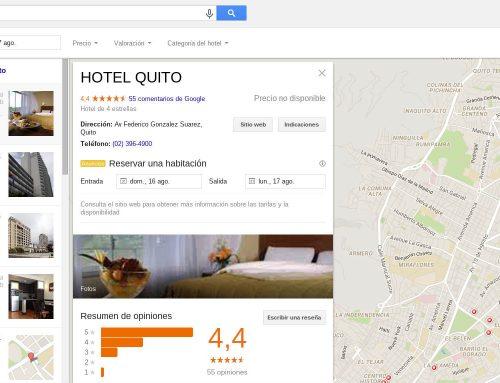 Google cambió presentación de resultados locales (local pack) en los SERPs