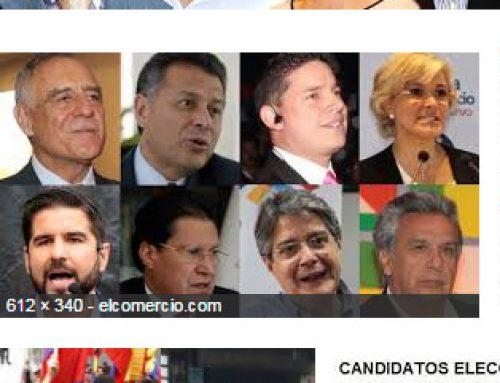 Ecuador: Candidatos a presidente y el SEO 2017