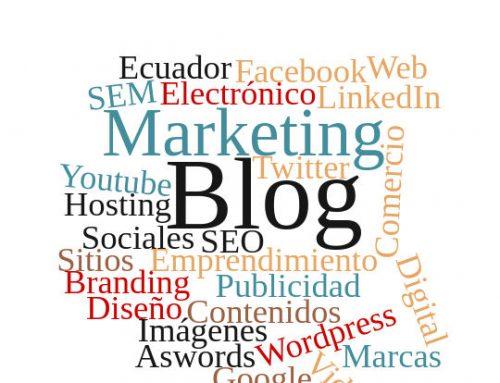 Ecuador: Lista de blogs que publican artículos sobre el marketing online